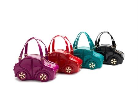 borsa a forma di macchina