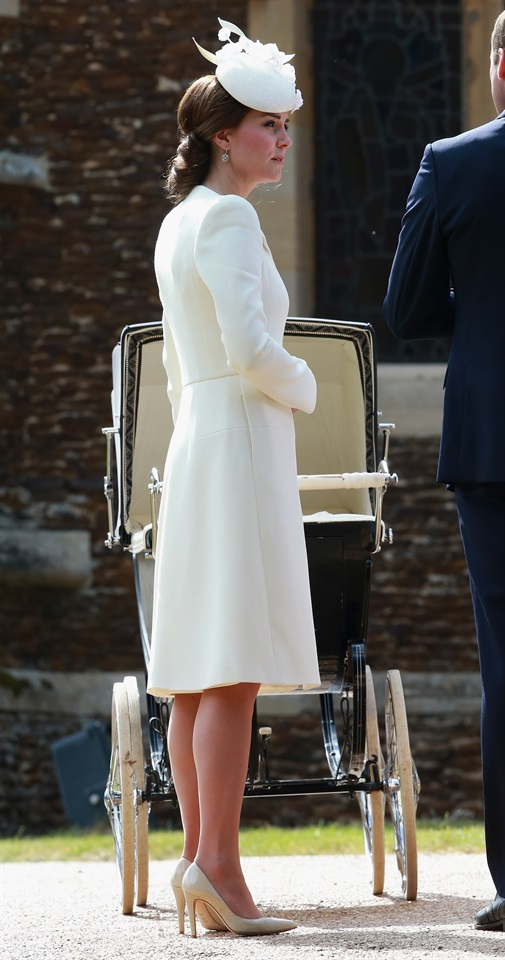 Kate Middleton E Il Perfetto Look Da Battesimo Glamour It