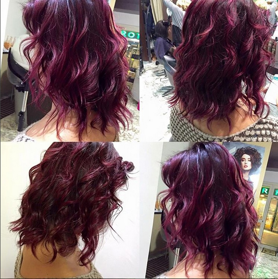 Tendenze Capelli 2016 Cherry Bombre Glamour It