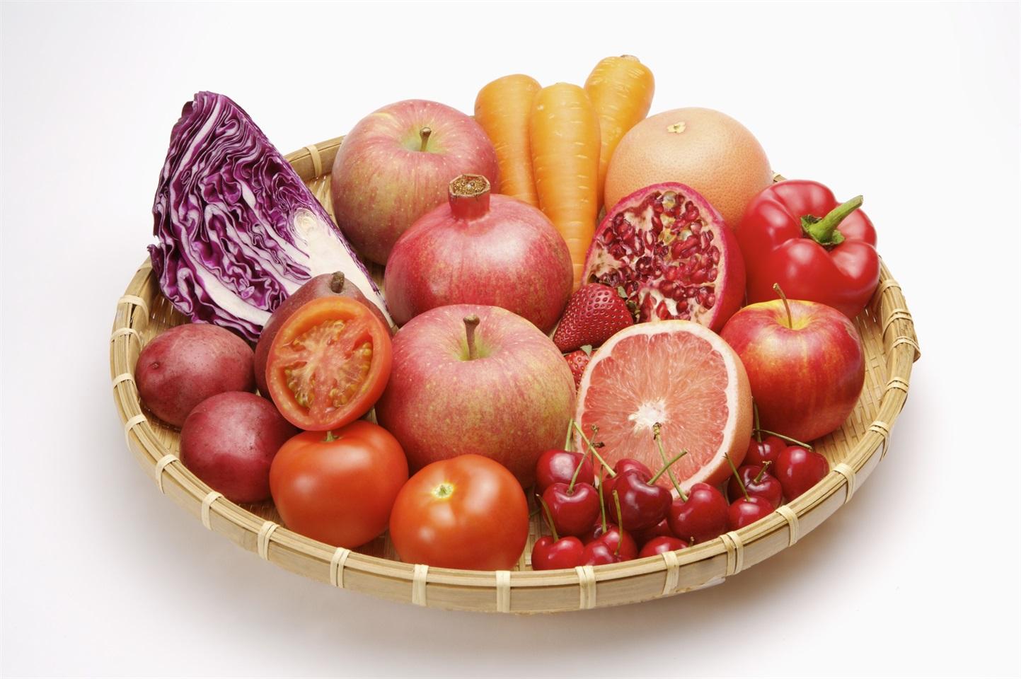 Sai cosa vogliono dire i colori di frutta e verdura - Immagine di frutta e verdura ...