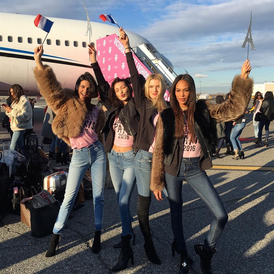 Victoria's Secret: gli angeli sono pronti per lo show evento di Parigi