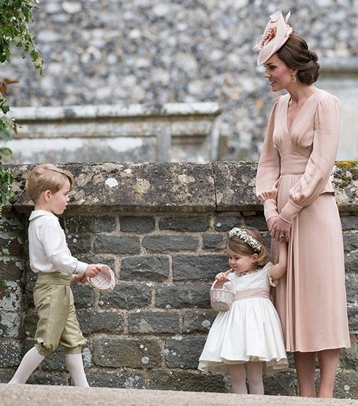 Matrimonio Pippa Middleton: rimprovero pubblico di Kate al piccolo George
