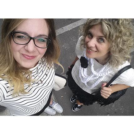 Letizia e Sonia Cilente