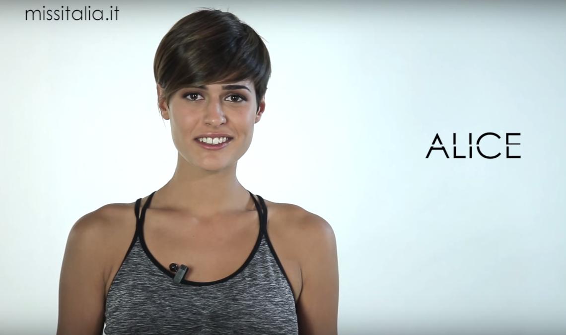 Miss Italia 2015 Alice Sabatini e le miss degli ultimi 30 ...
