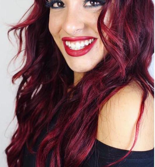 nuovo colore di capelli