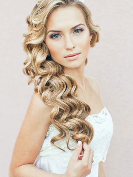 Acconciature per capelli lunghi sposa