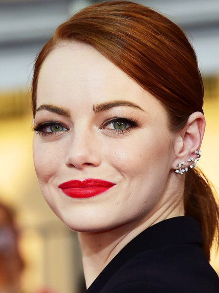 Trucco Occhi Verdi Copia I Look Di Emma Stone Glamour It
