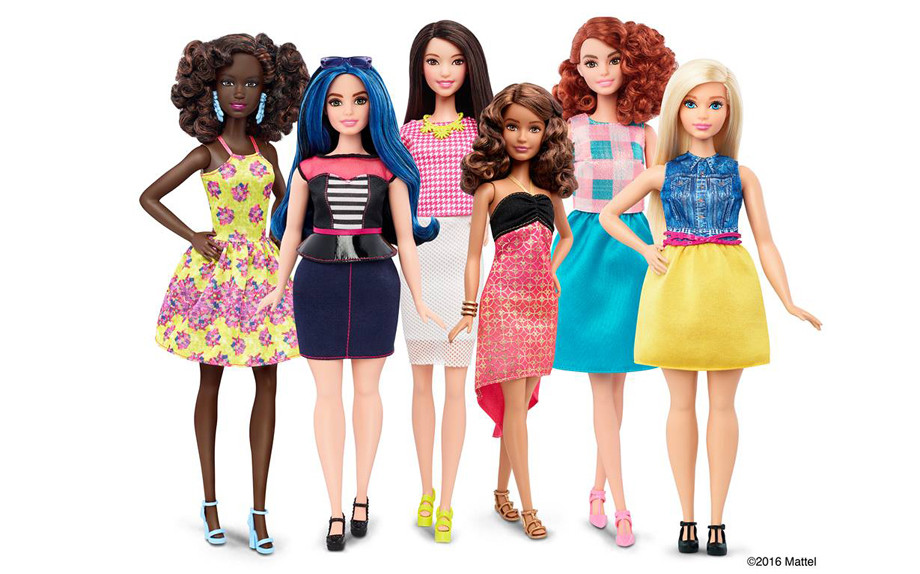 Barbie cambia forma