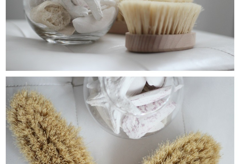 Spazzolatura a secco Dry Brushing
