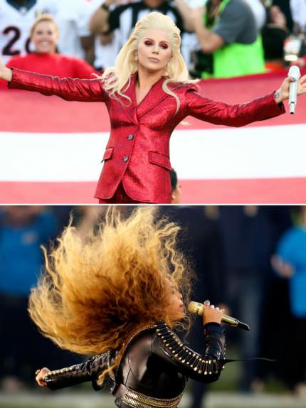 Lady Gaga e Beyoncé: le donne del Super Bowl