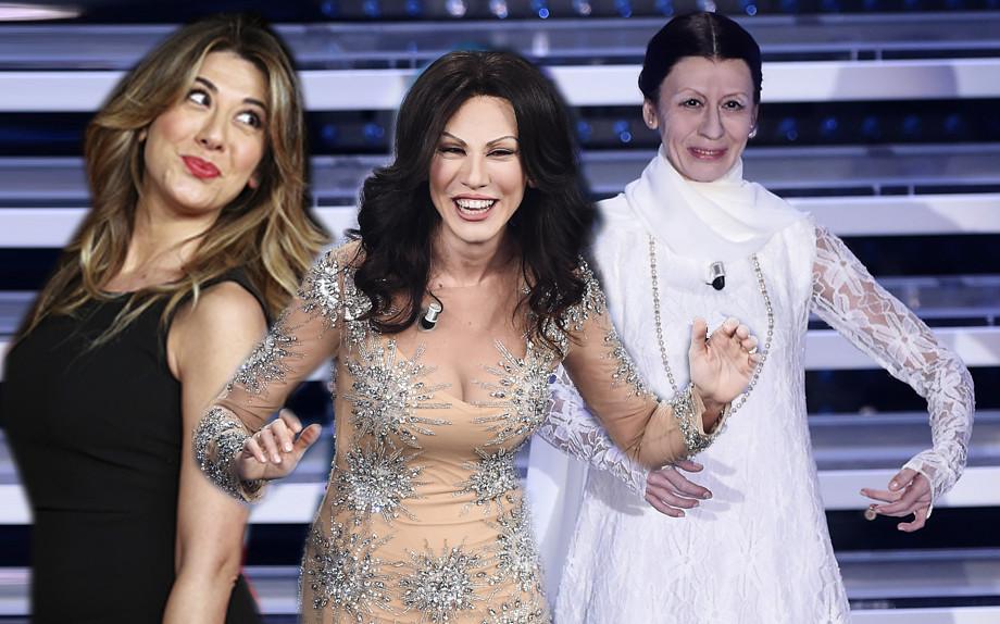 Virginia Raffaele: da Carla Fracci a Sabrina Ferilli, più vera del vero a Sanremo 2016