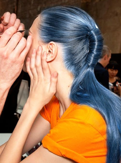 denim hair melania migliozzi