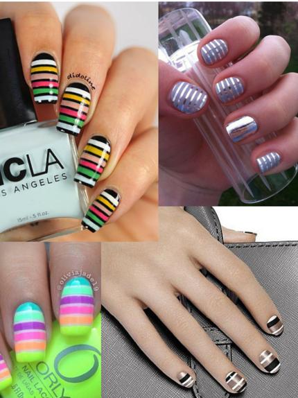 Unghie 2016  stripes