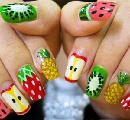 nail-art-frutta-mista