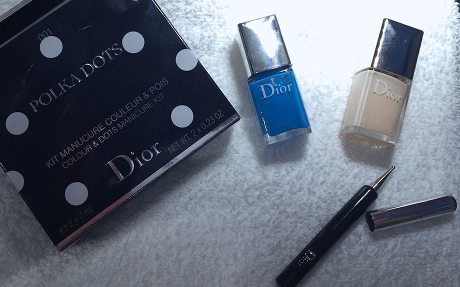 polka dots Dior spring summer 2016