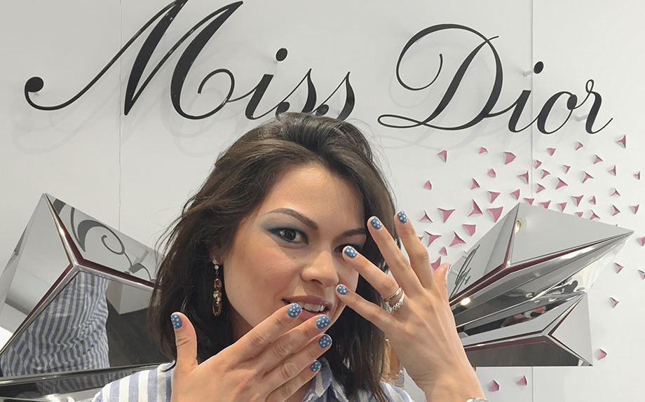 Beauty reporter Nayla Carvalho Dior Glamour Italia