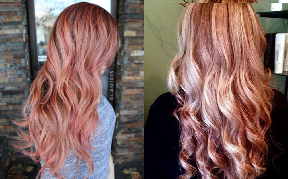 Colore Capelli Primavera 2016 L Esplosione Dei Rose Gold Hair