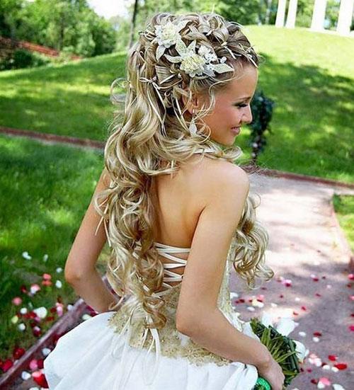 Ben noto Acconciature capelli con fiori | Capelli Fashion NG83