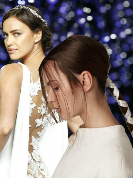 Bridal Fashion Week: acconciature da sposa 2016