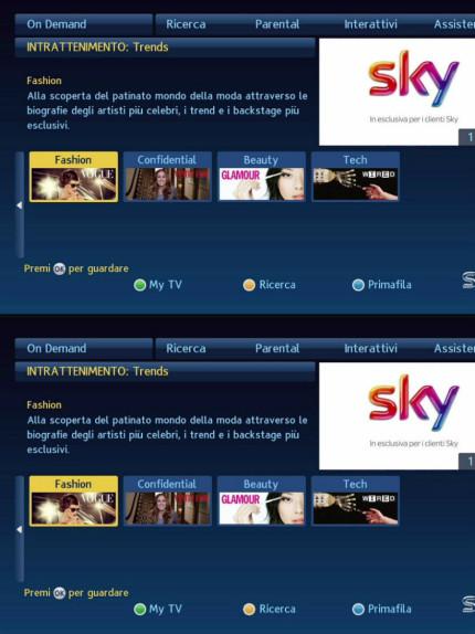 Sky e Condé Nast: i nuovi contenuti