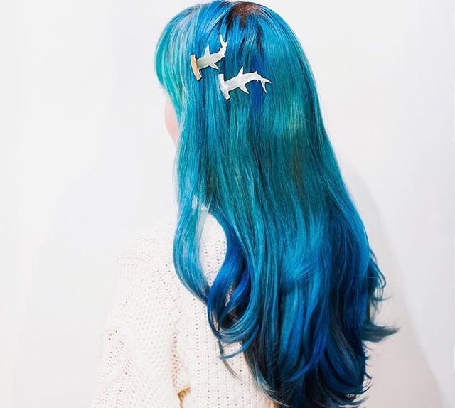 hair blu