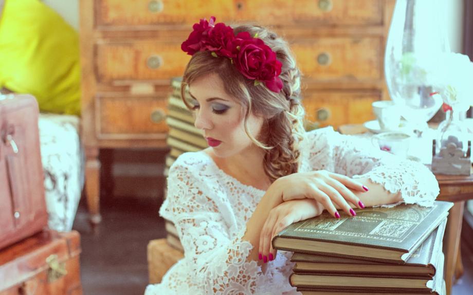 Ida Galati - Ph Elisa Rinaldi  Thanks to Gibot, La Bottega del Fiore e La Maison della Bellezza Hair & Beauty