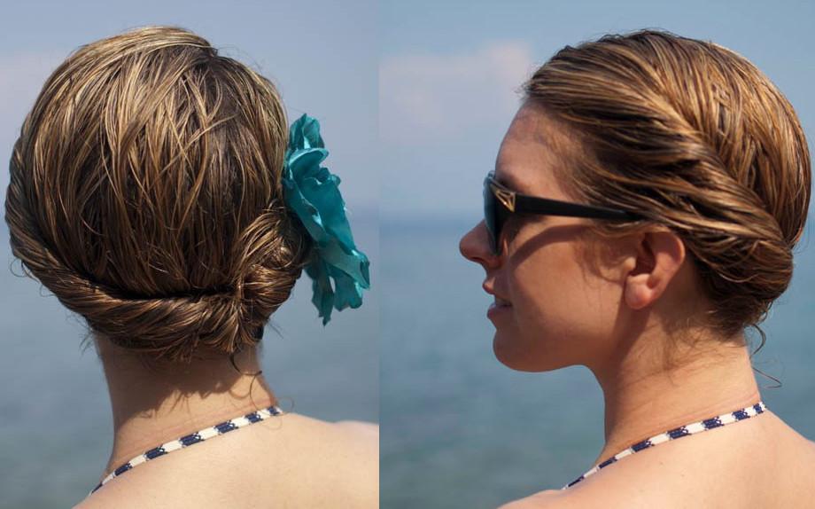Capelli raccolti: chignon e trecce per l'estate! - Glamour.it