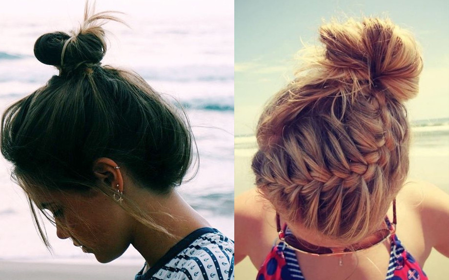 Famoso Capelli raccolti: chignon e trecce per l'estate! - Glamour.it FJ85