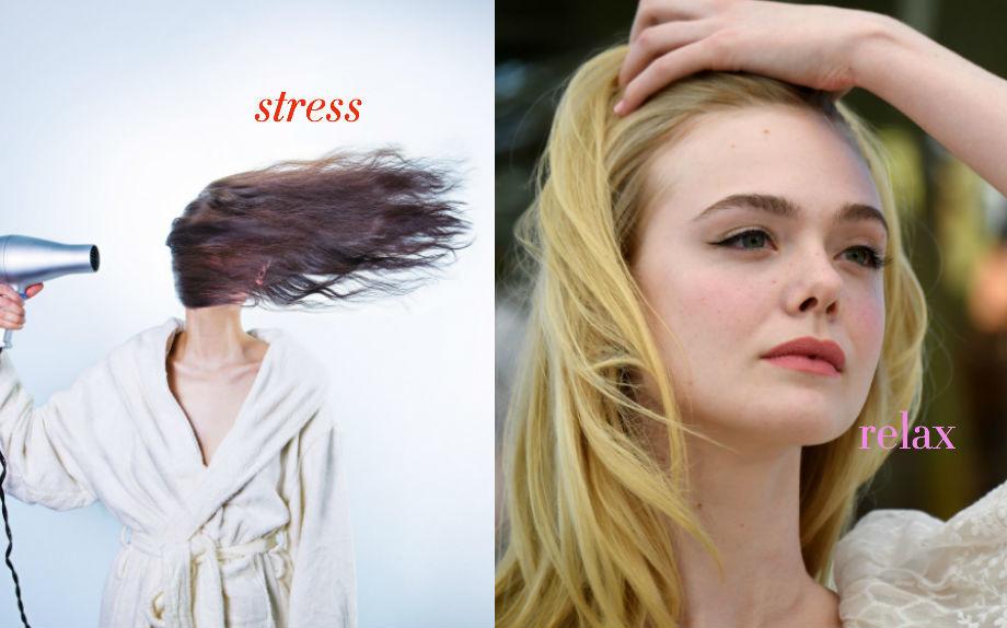 4 segnali che i capelli sono stressati
