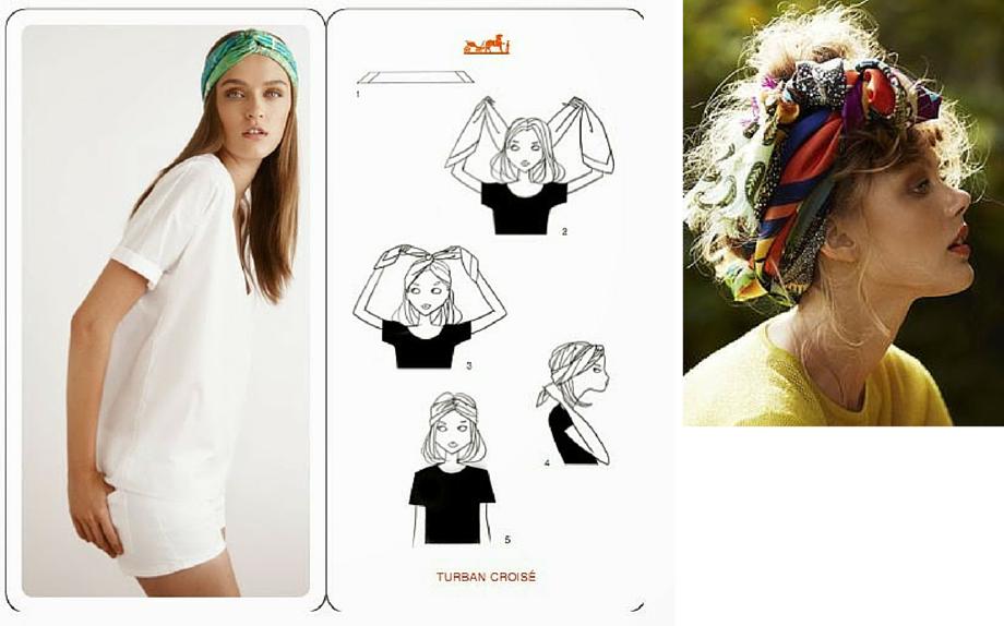 comprare in vendita ultime tendenze negozio di sconto Capelli estate 2016: foulard - Glamour.it