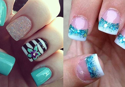 15-Cool-Pretty-Summer-Acrylic-Nail-Art-Designs-Ideas-Trends-Stickers-2015-F