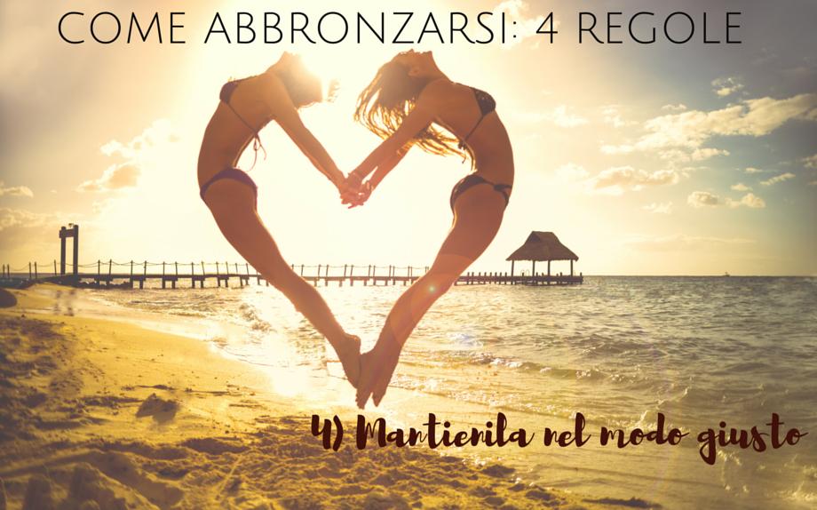 come_abbronzarsi