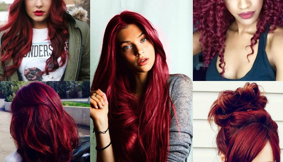 bold burgundy