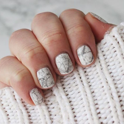 diy,marble,nail,art