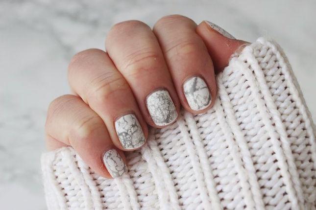 Easy marble nail art gallery nail art and nail design ideas marble design nail art choice image nail art and nail design ideas simple chic nail designs prinsesfo Choice Image
