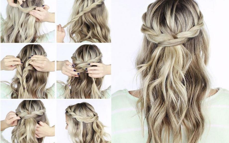 Acconciature semplici per capelli medi lisci