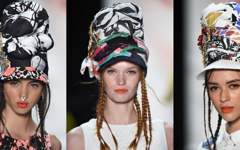 Capelli in estate: acconciature sotto al cappello