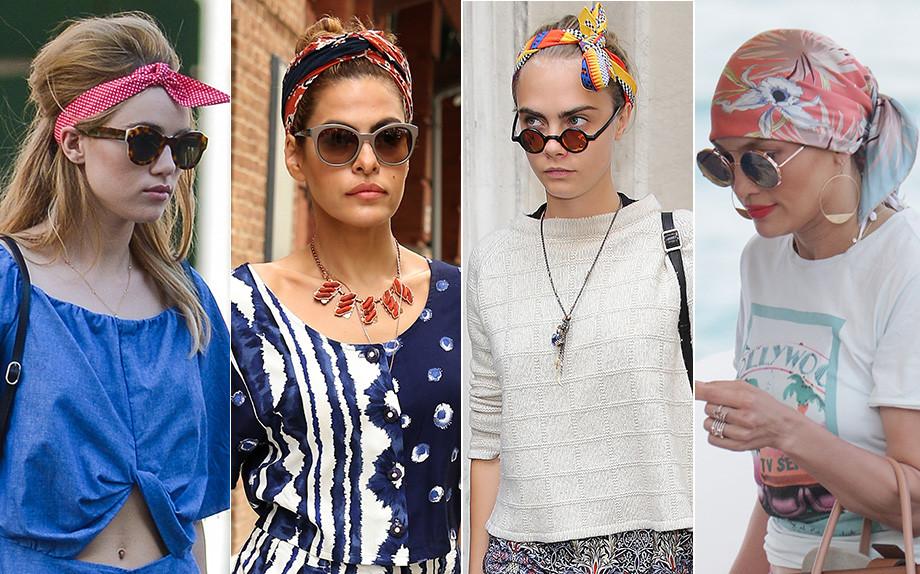 Capelli: 12 modi di indossare foulard e bandane