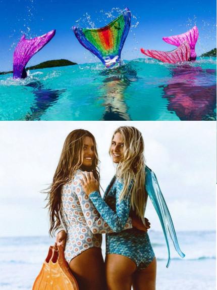 Mermaiding: stile e workout da sirena