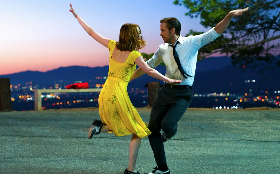 """Dal musical """"La La Land"""", con Emma Stone e Ryan Gosling."""