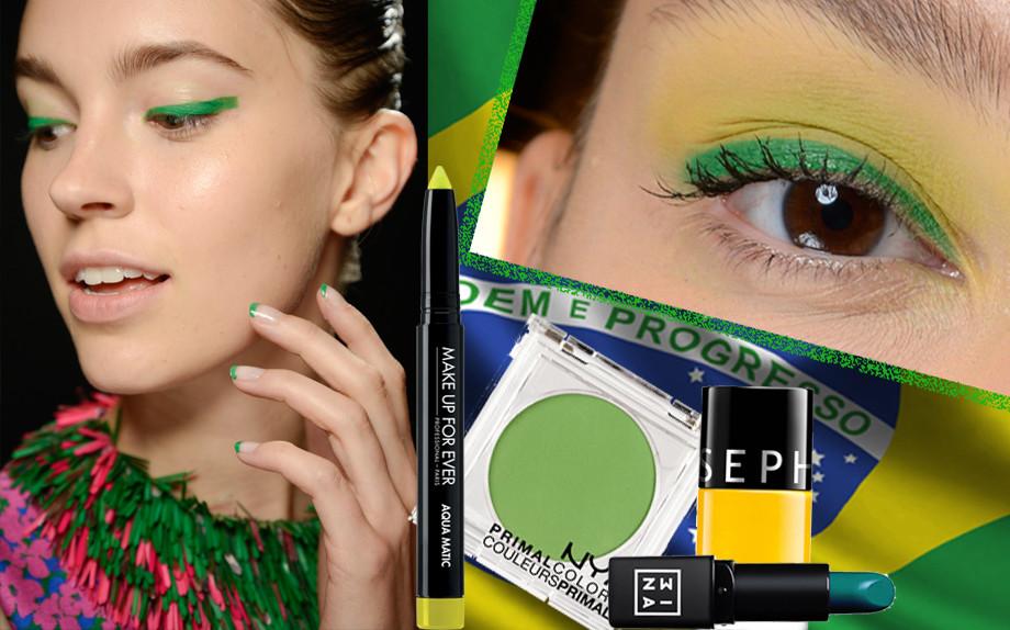 Make-up ispirazione Brasile