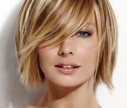 Tagli di capelli con frange