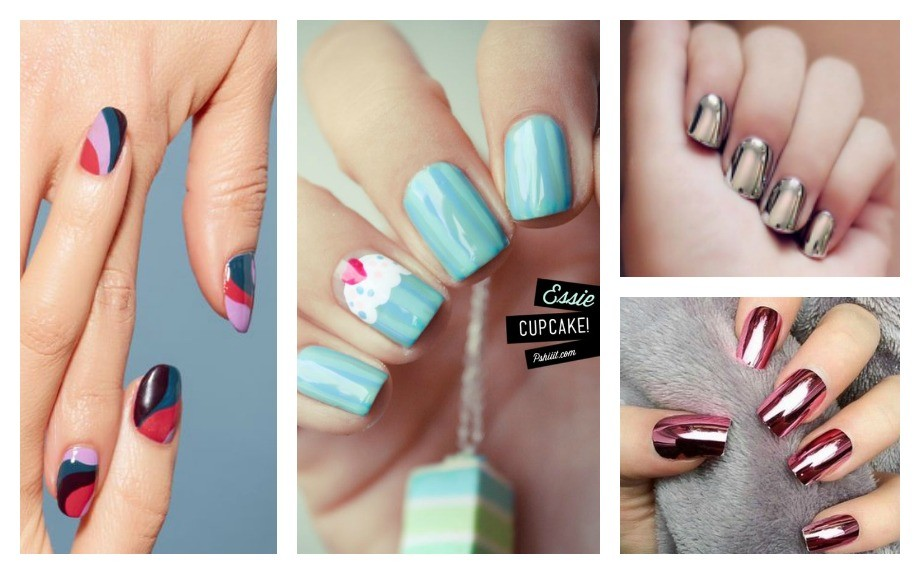 Glamour party nail art ideas