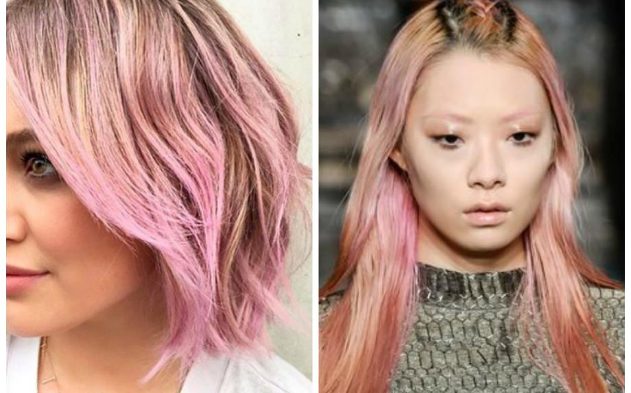 Colore moda capelli lunghi