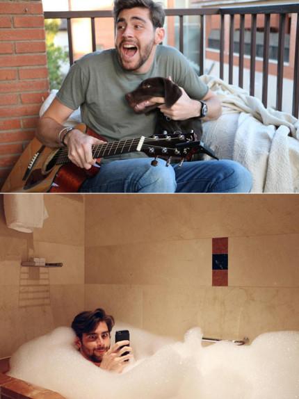 Alvaro Soler in 25 facce da humor