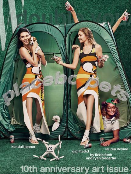 Dove sono finite le ginocchia di Gigi Hadid e Kendall Jenner?