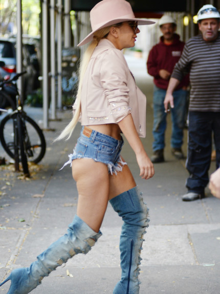 Lettera a Lady Gaga in shorts