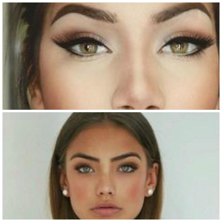 Qui ti lascio ad una gallery di make up per occhi verdi e marroni mentre  qui trovi tante idee trucco per i tuoi occhi.