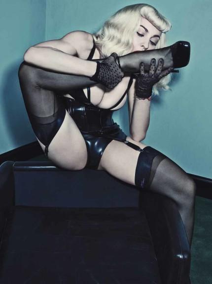 Con Madonna il bondage diventa fitness