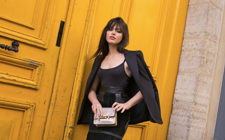 Kristina Bazan: «Ecco il mio look tutto frange e glitter»